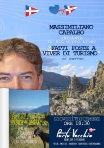 """Presentazione del libro """"Fatti foste a viver di turismo"""" @ Porto Vecchio Lounge Bar e Restaurant   Crotone   Calabria   Italia"""