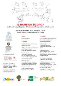 Il bambino sicuro? La dimensione pedagogica del rischio nelle esperienze all'aria aperta @ Università della Val d'Aosta | Aosta | Valle d'Aosta | Italia