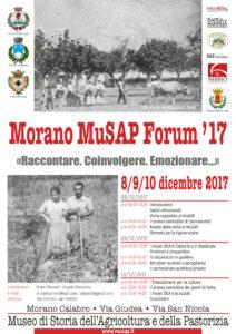 Morano MuSap Forum '17 @ Museo di Storia dell'Agricoltura e della Pastorizia   Morano Calabro   Calabria   Italia