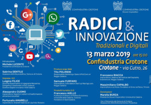 Radici e innovazione @ Confindustria Crotone